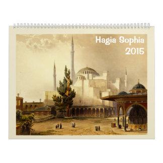 Calendario de Hagia Sophia 2015