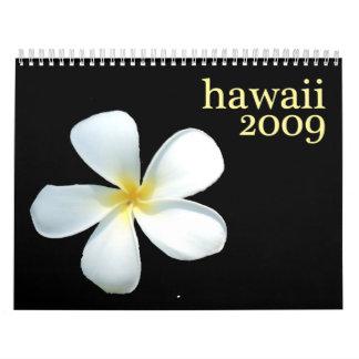 Calendario de Hawaii 2009