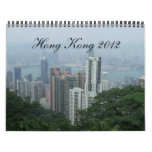 Calendario de Hong Kong, calendario China del viaj