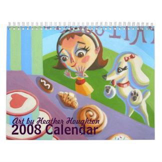 Calendario de Houghton 2008 del brezo