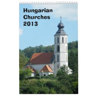 Calendario de iglesias húngaro 2013