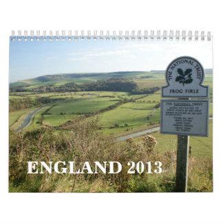 Calendario de Inglaterra 2013