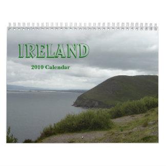 Calendario de Irlanda 2010