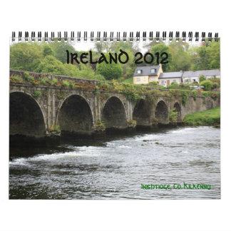 Calendario de Irlanda 2012