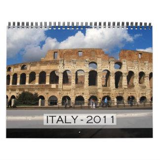 Calendario de Italia 2011