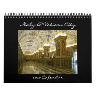 Calendario de Italia y de Vatican 2010