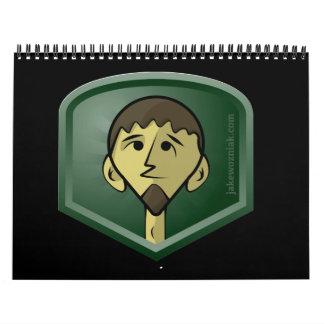 calendario de JakeWozniak.com 2012