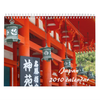 calendario de Japón 2010