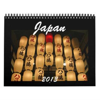 calendario de Japón 2013