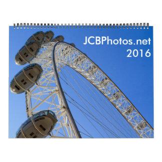 calendario de JCBPhotos.net 2016