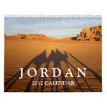 Calendario de Jordania 2012