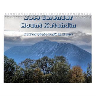 Calendario de Katahdin de 2014 soportes