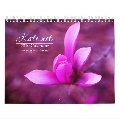 calendario de Kate.net 2010