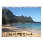 Calendario de Kauai 2011