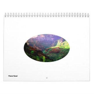 Calendario de Kauai del planeta