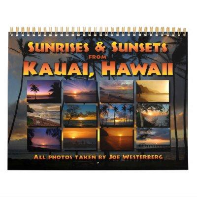 Calendario de Kauai, Hawaii 2013