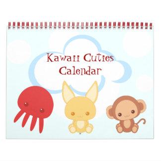 Calendario de Kawaii Cutie