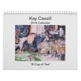 Calendario de Kay Cassill 2016