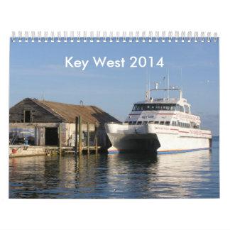 Calendario de Key West 2014