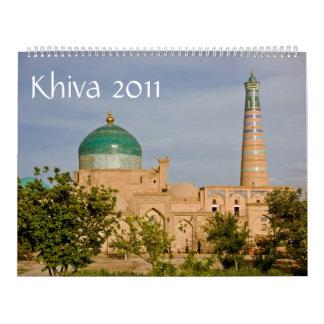 Calendario de Khiva 2011