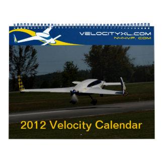 Calendario de Kitplane de 2012 velocidades - todos