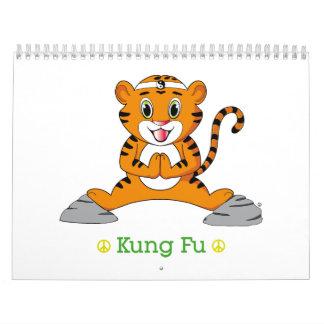 Calendario de Kung Fu Tiger™