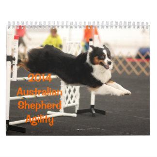 Calendario de la agilidad del pastor de 2014 austr