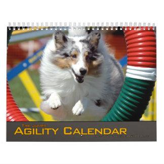 Calendario de la agilidad del salto de 2012