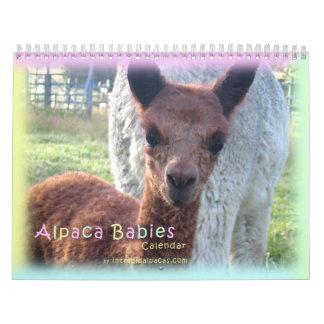 Calendario de la alpaca