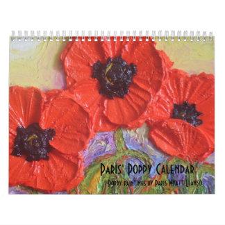 Calendario de la amapola de París