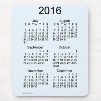Calendario de la ampliación de foto 2016 de Janz Mouse Pad