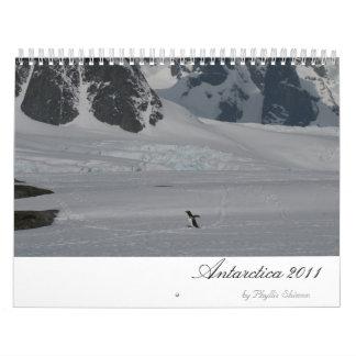 Calendario de la Antártida