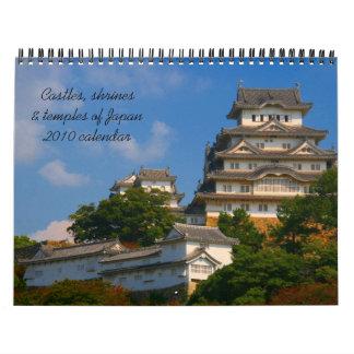 calendario de la arquitectura 2010 de Japón