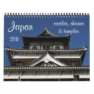 calendario de la arquitectura 2011 de Japón