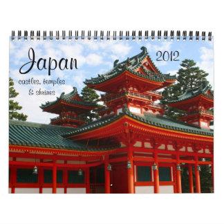 calendario de la arquitectura 2012 de Japón