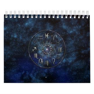 Calendario de la astrología del zodiaco