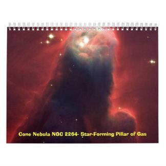 Calendario de la astronomía