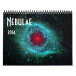 Calendario de la astronomía de espacio 2014 de las