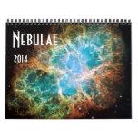 Calendario de la astronomía de espacio de las nebu