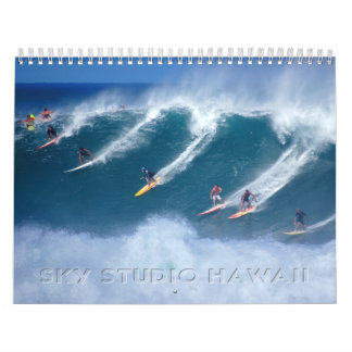 Calendario de la bahía de Waimea