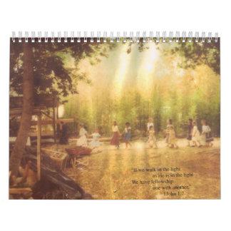 Calendario de la beca