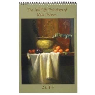 Calendario de la bella arte