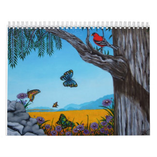 Calendario de la bella arte de Annette Jimerson