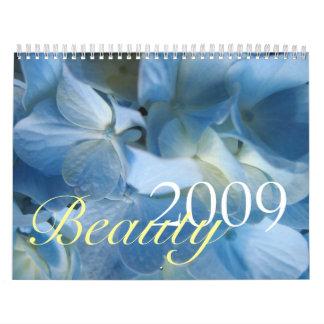 Calendario de la belleza 2009