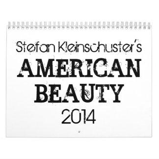 Calendario de la belleza 2014 american de S.