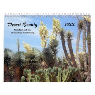 Calendario de la belleza de 2016 desiertos
