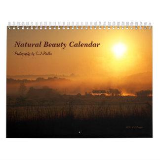 """Calendario de la """"belleza natural"""""""