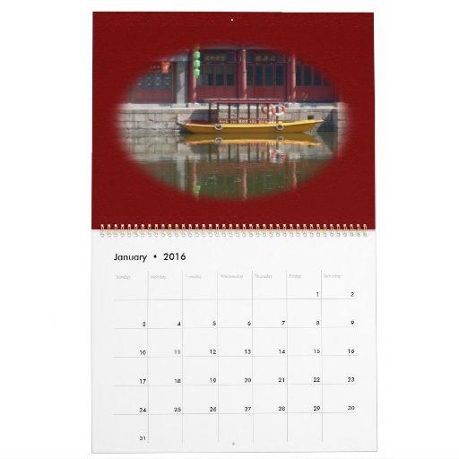 Calendario de la calle de Suzhou