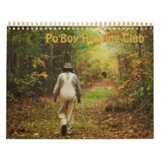 Calendario de la caza de Po'Boy