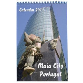 Calendario de la ciudad de Maia